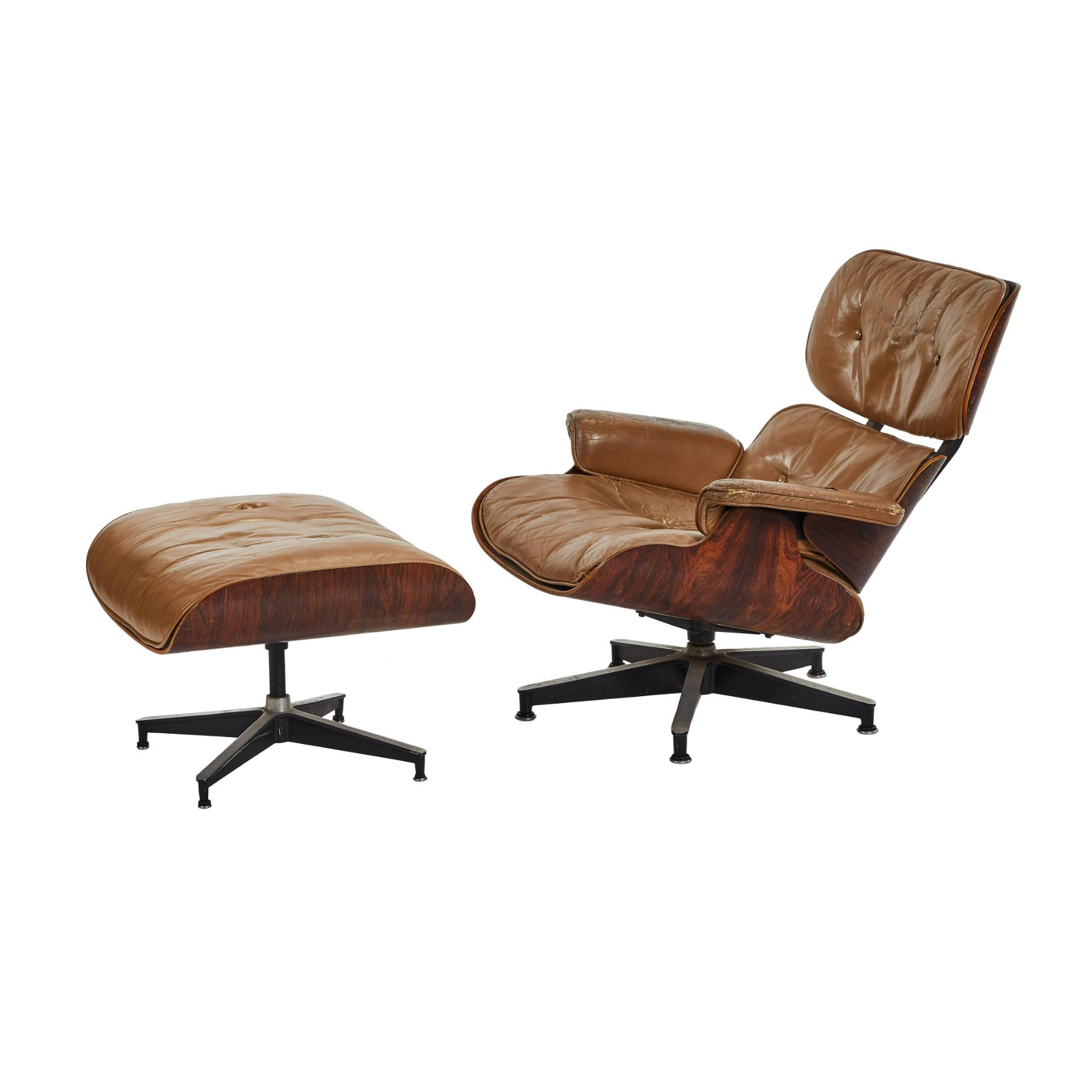 Charles Eames Lounge 670 Chair and Ottoman (2)