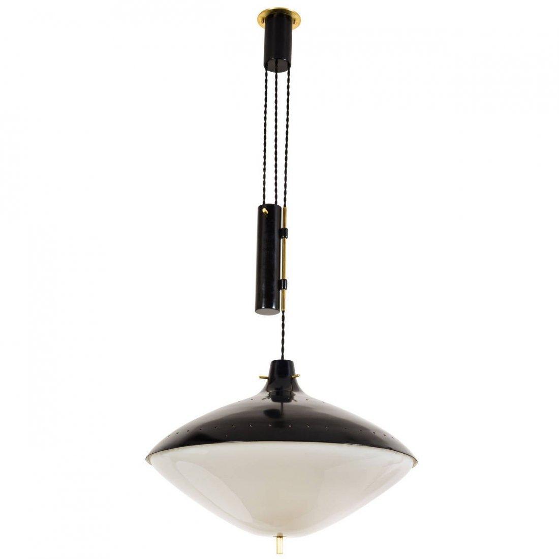 Italian Pulley Lamp
