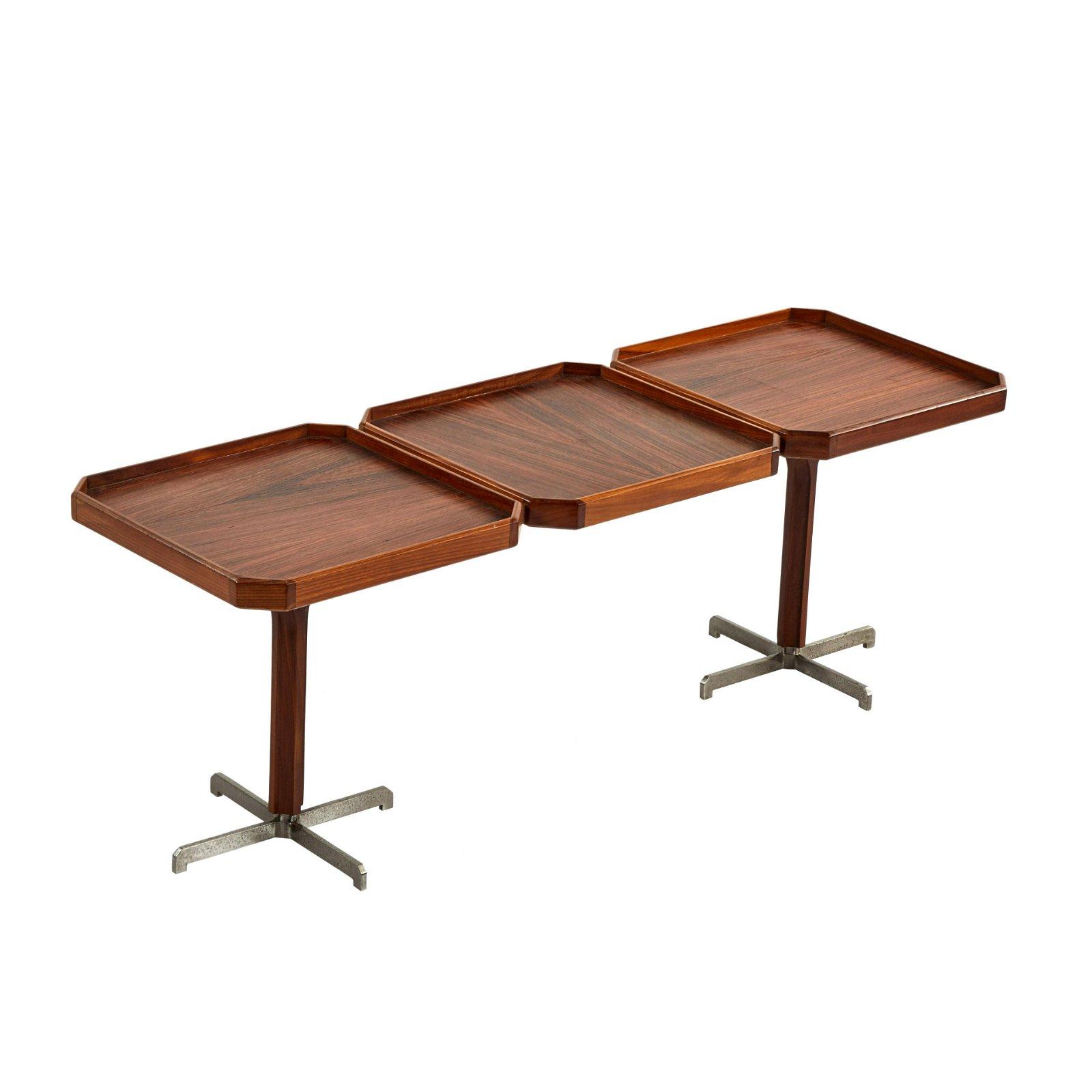 Three-Tray Coffee Table