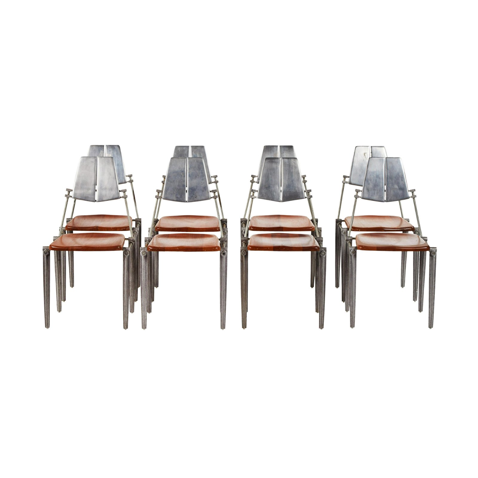 Robert Josten Dining Chairs (8)