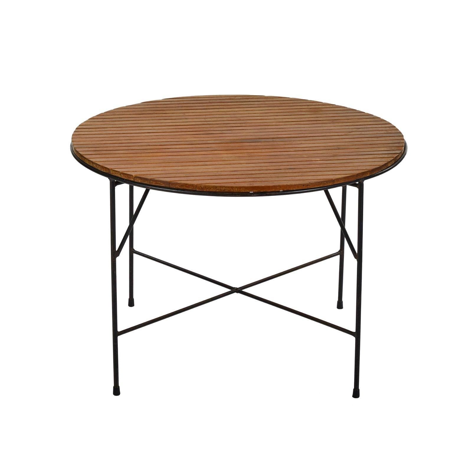 Arthur Umanoff Round Dining Table