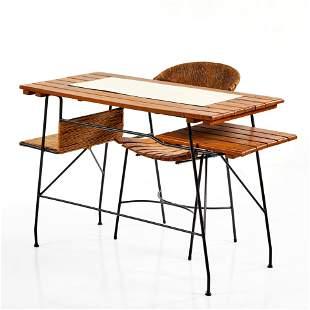 Arthur Umanoff Desk and Chair (2)