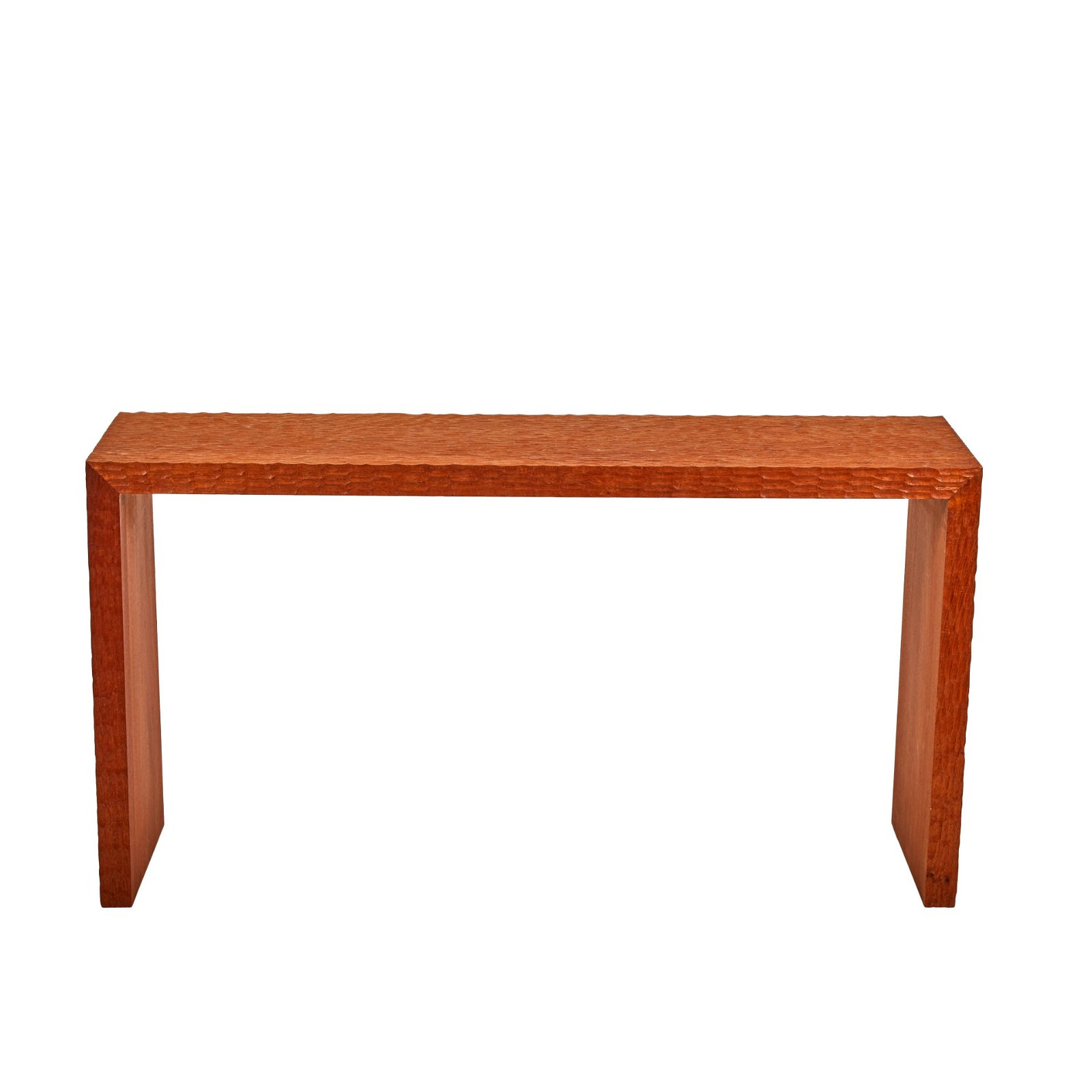 Jean-Michel Frank Style Chip-Carved Console Table