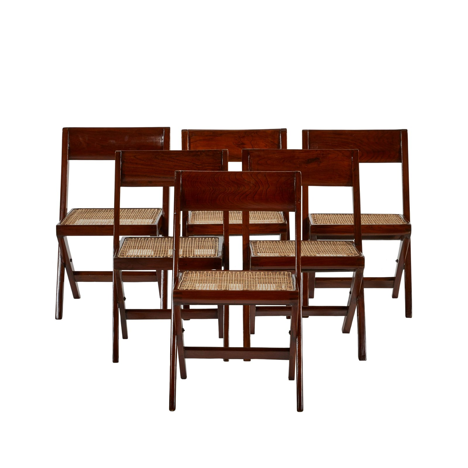 Pierre Jeanneret Library Chairs (6)