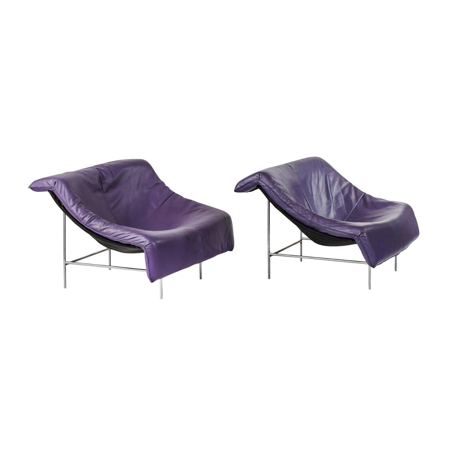Gerard van den Berg Butterfly Lounge Chairs (2)