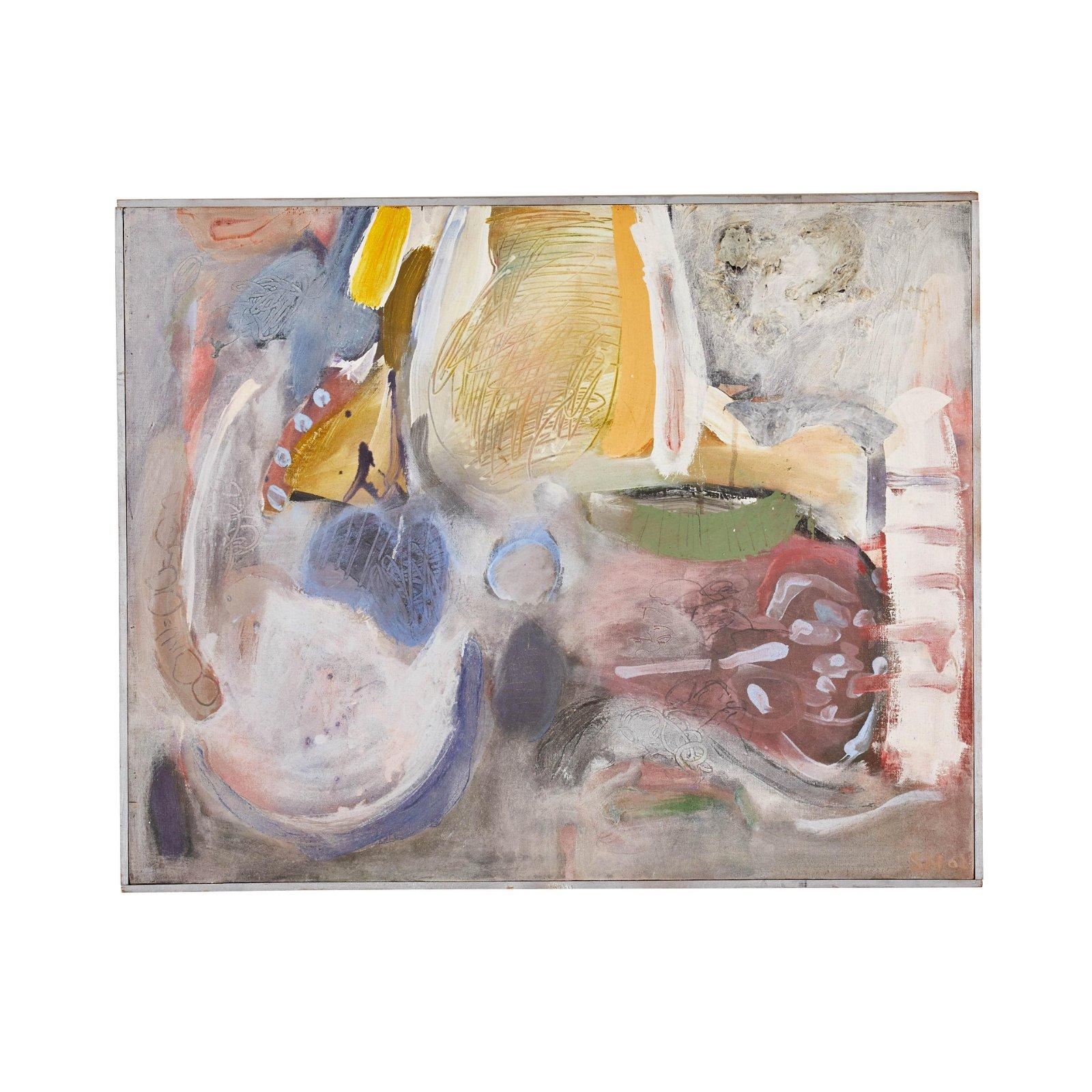 Selma Moskovitz Abstract Painting