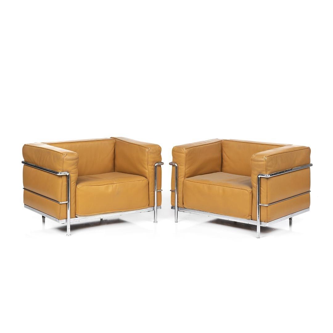 Le Corbusier Grande Comfort Chairs (2)