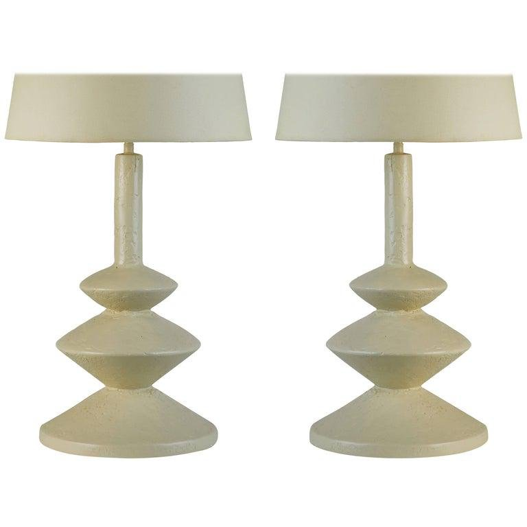 Table Lamps After Jean Michel Frank and Alberto