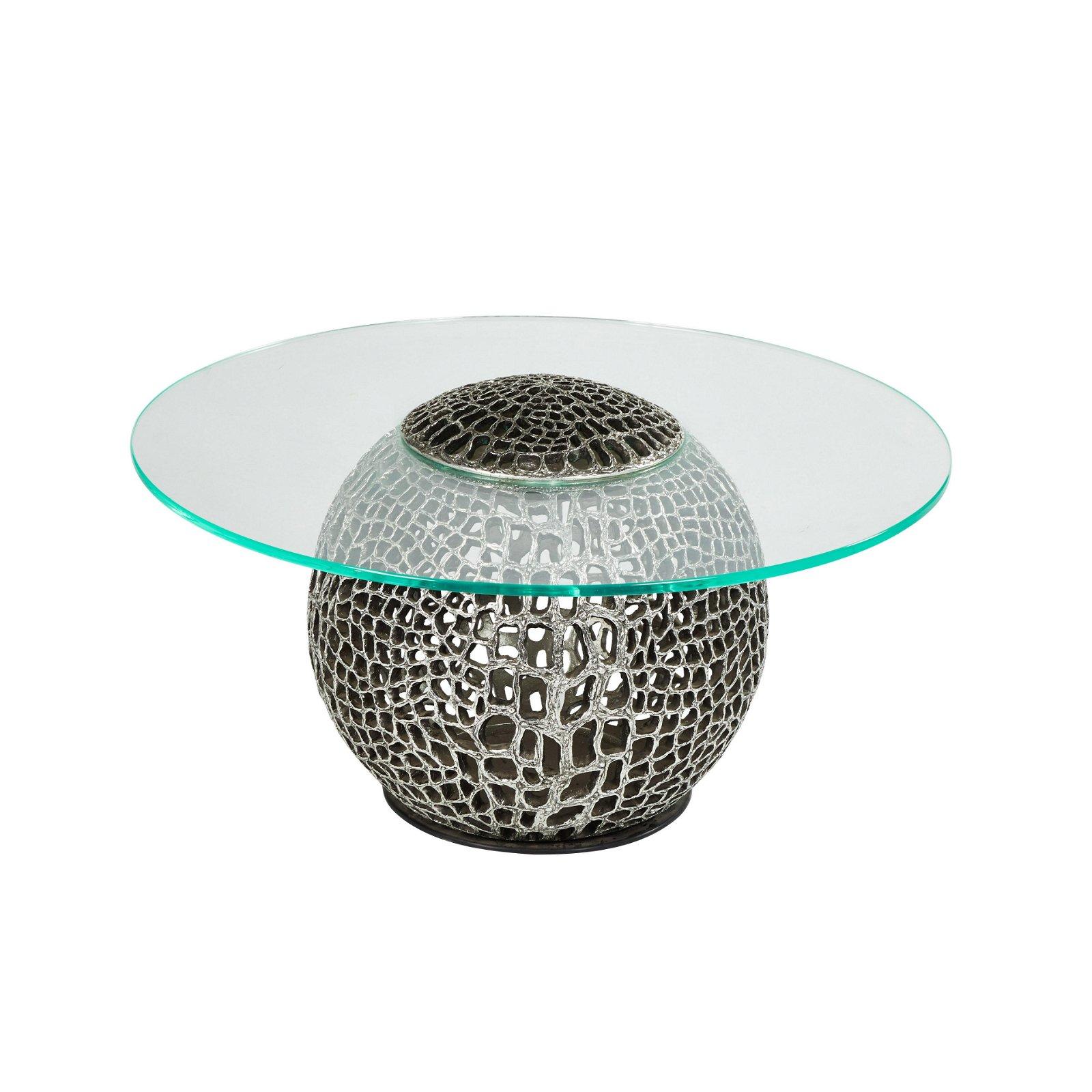 Organic Cast Resin Coffee Table
