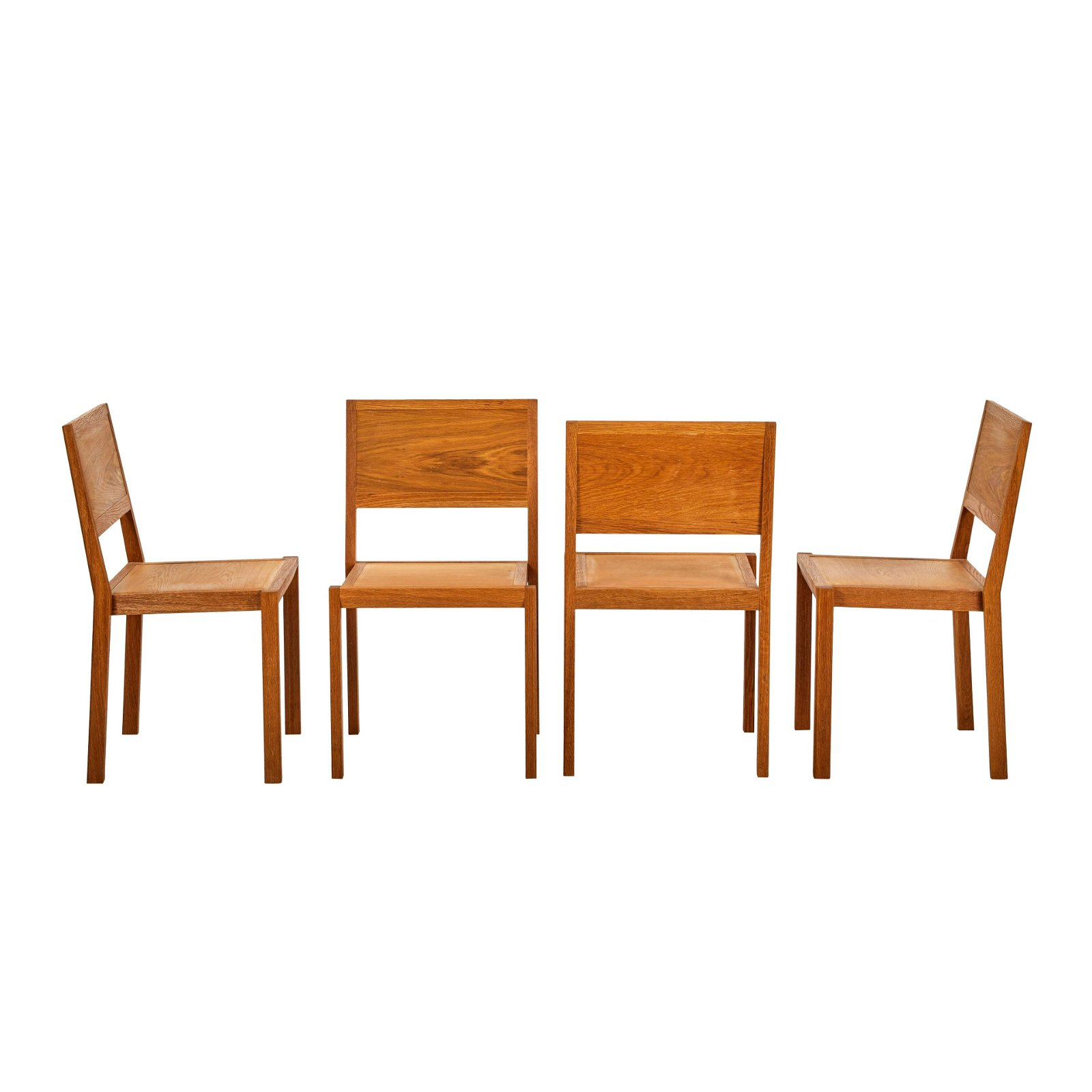 Alvar Aalto Stacking Chairs (4)