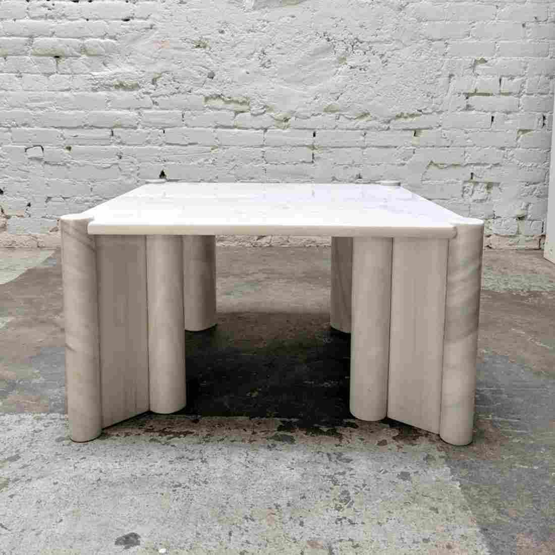 Gae Aulenti Style Marble Table