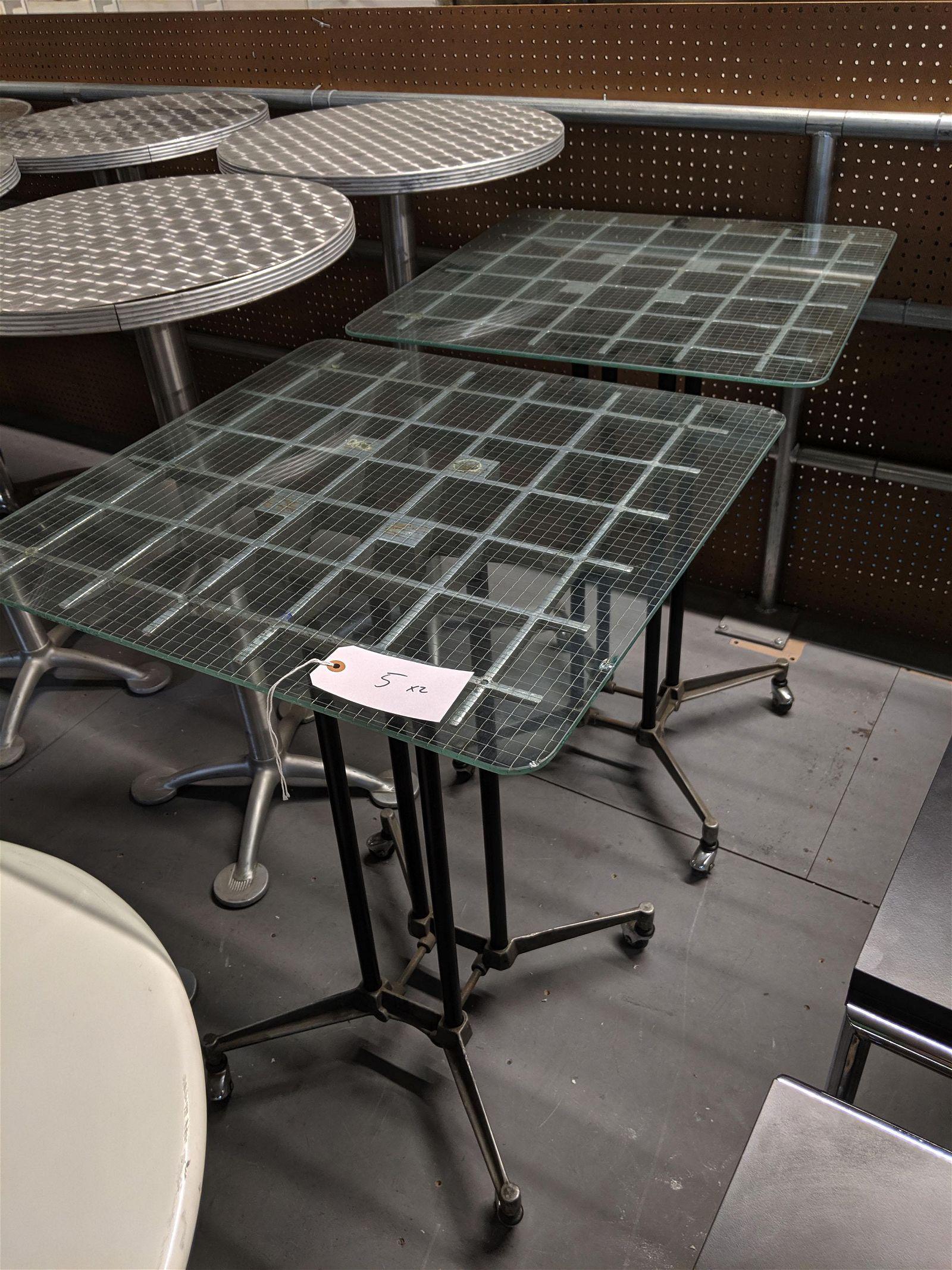 Robert Josten Cocktail Tables (2)