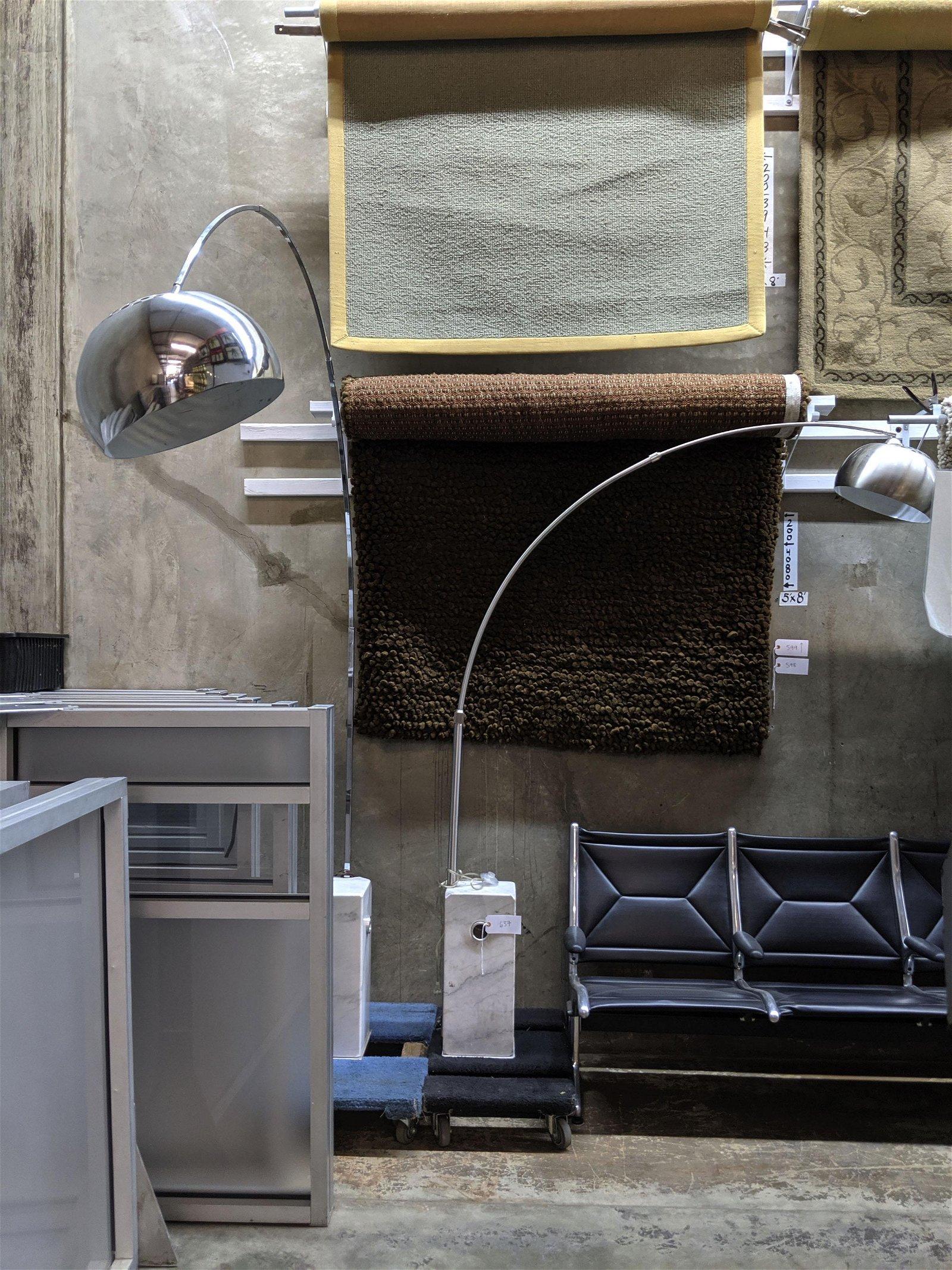 Arco Style Floor Lamps (2)