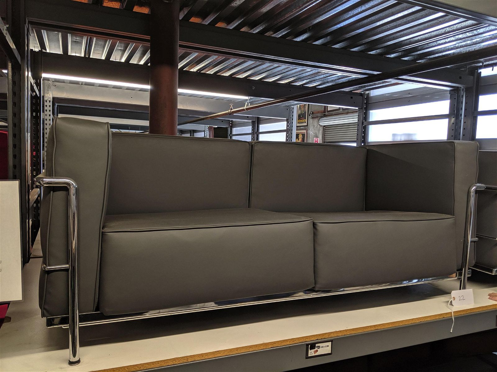 Four Piece Le Corbusier Style Seating Group (4)