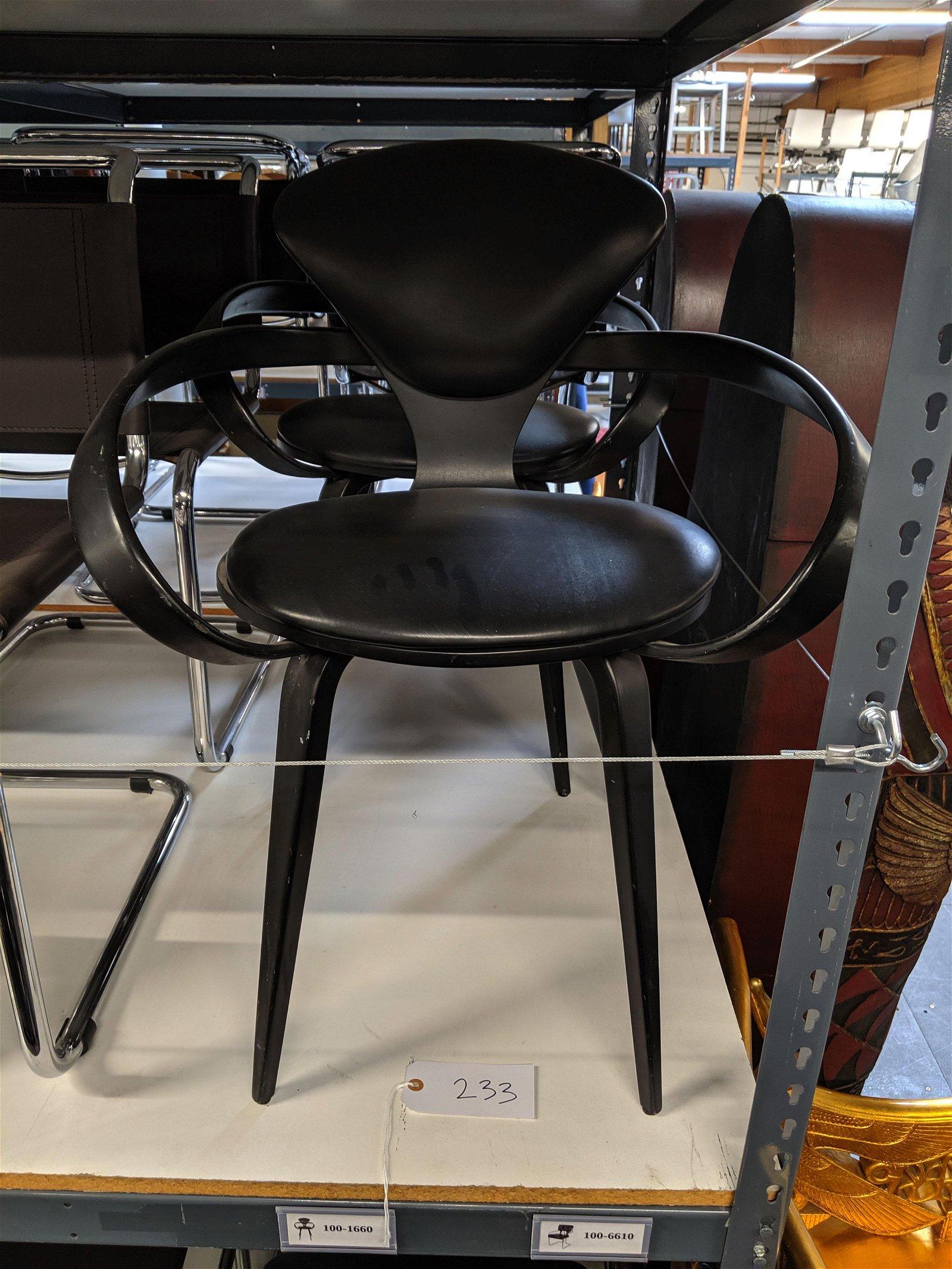 Norman Cherner Pretzel Chairs (4)