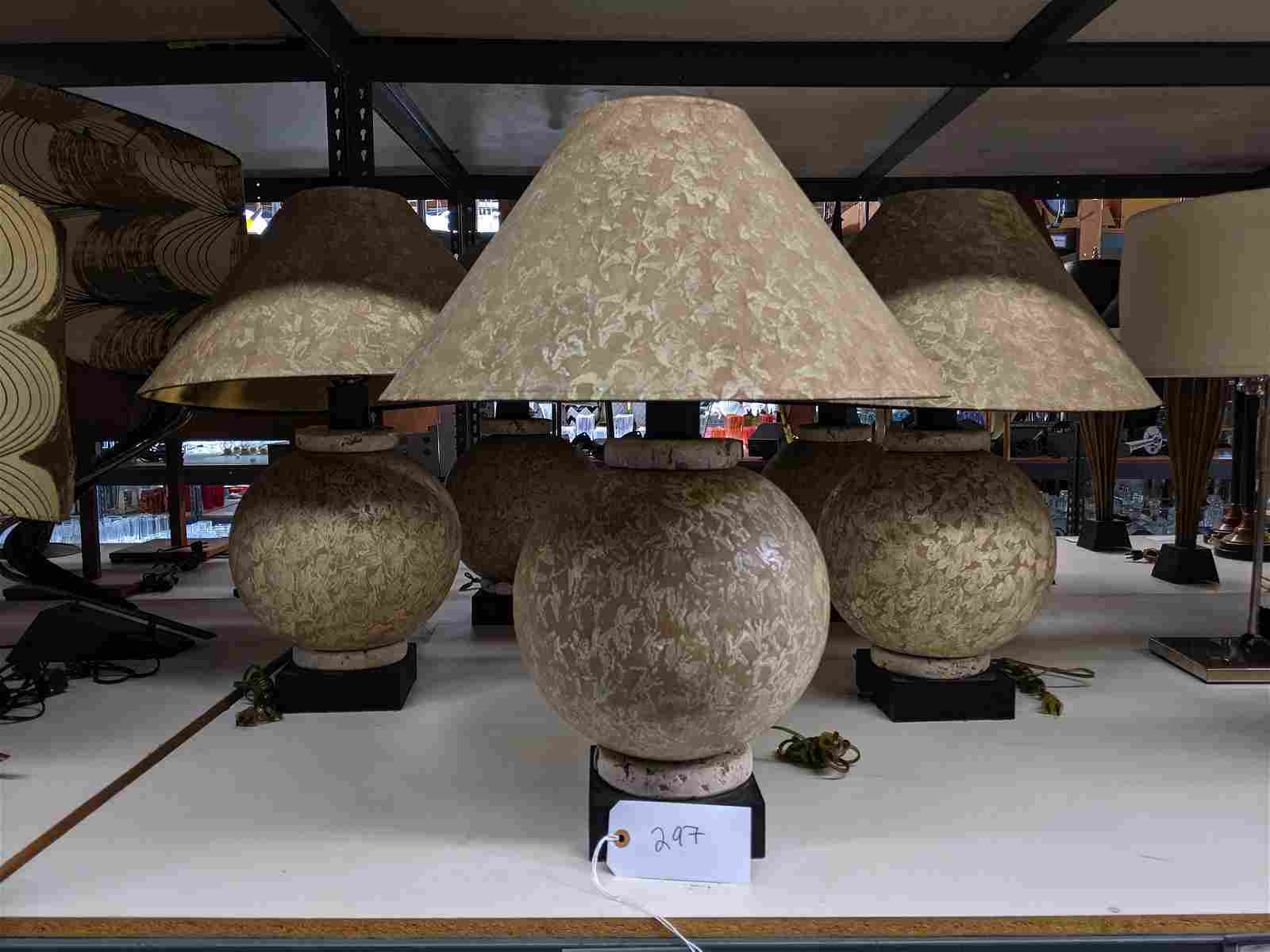 Painted Table Lamps (5)