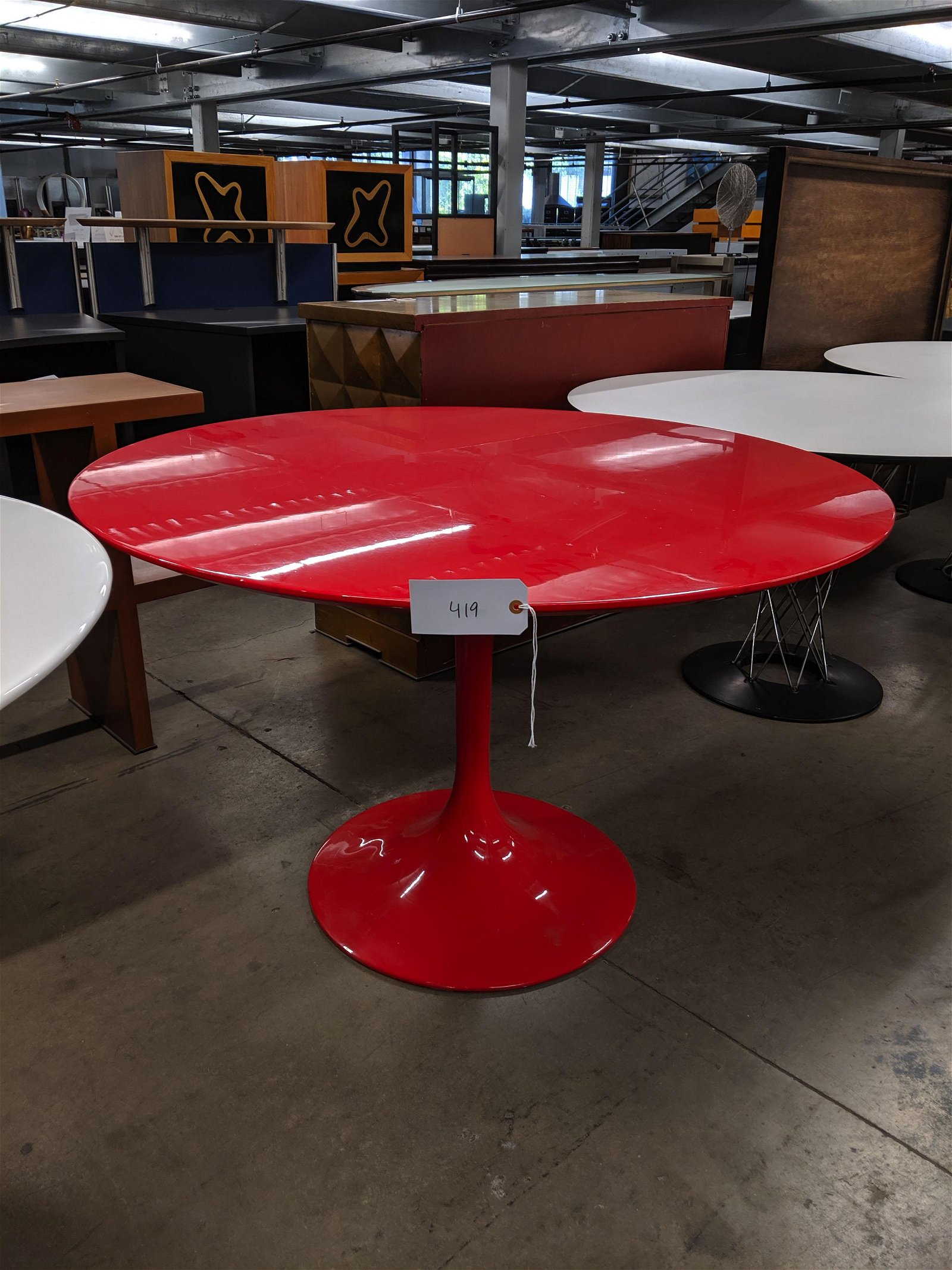 Red Tulip Table
