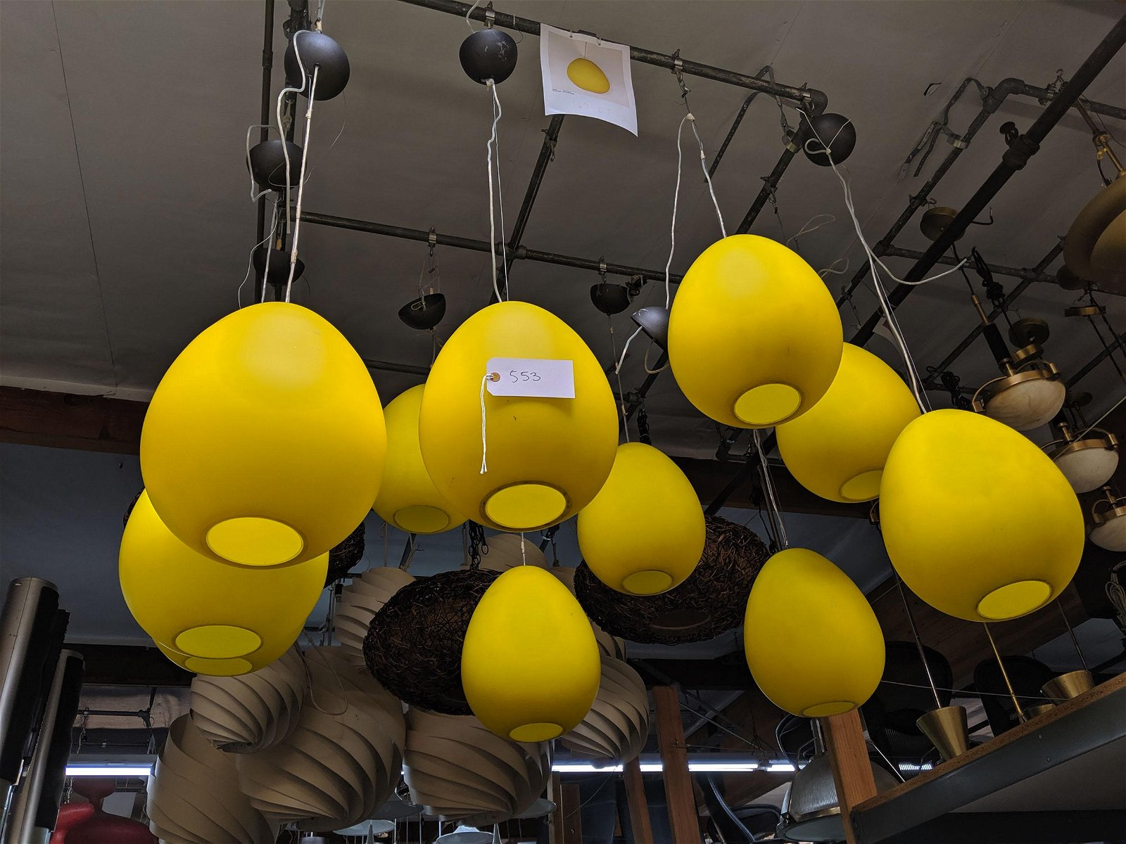 Yellow Pendant Lights (11)