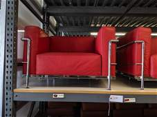 Le Corbusier Style Seating Set