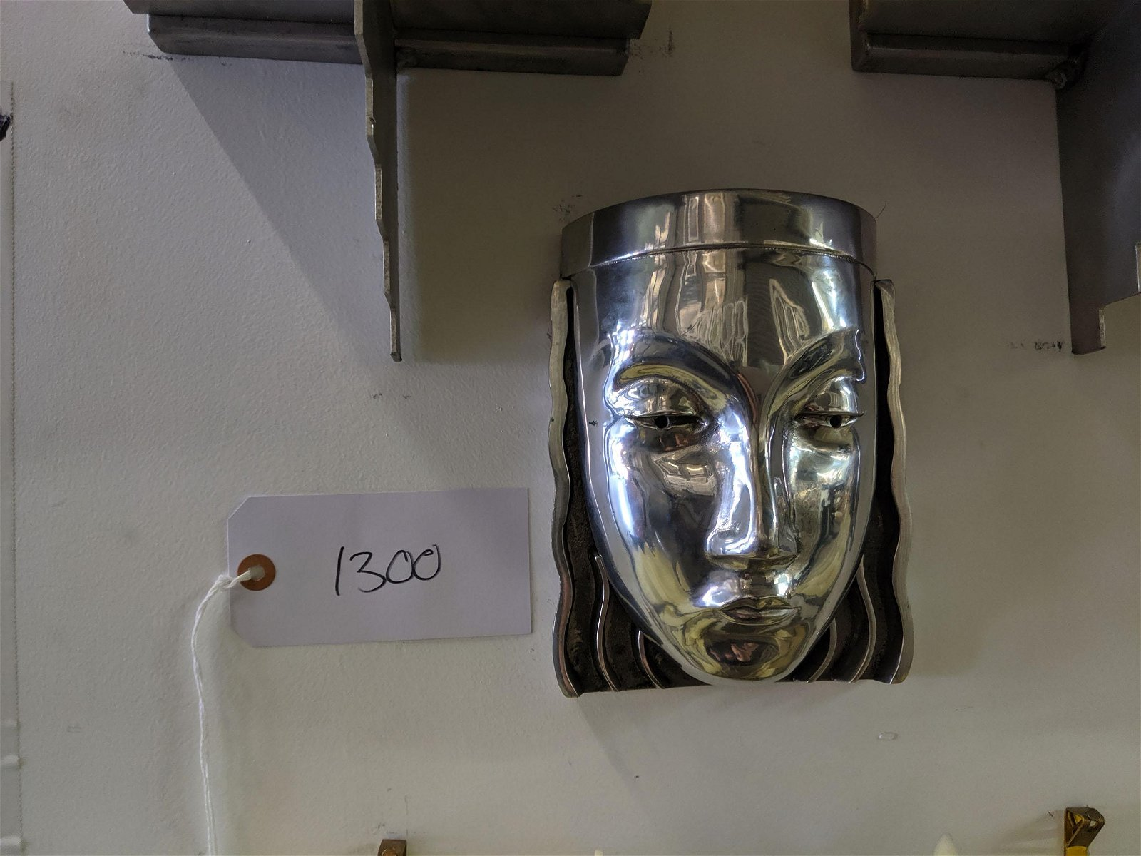 Art Deco Mask Sconces