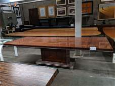Extending Art Deco Style Dining Table