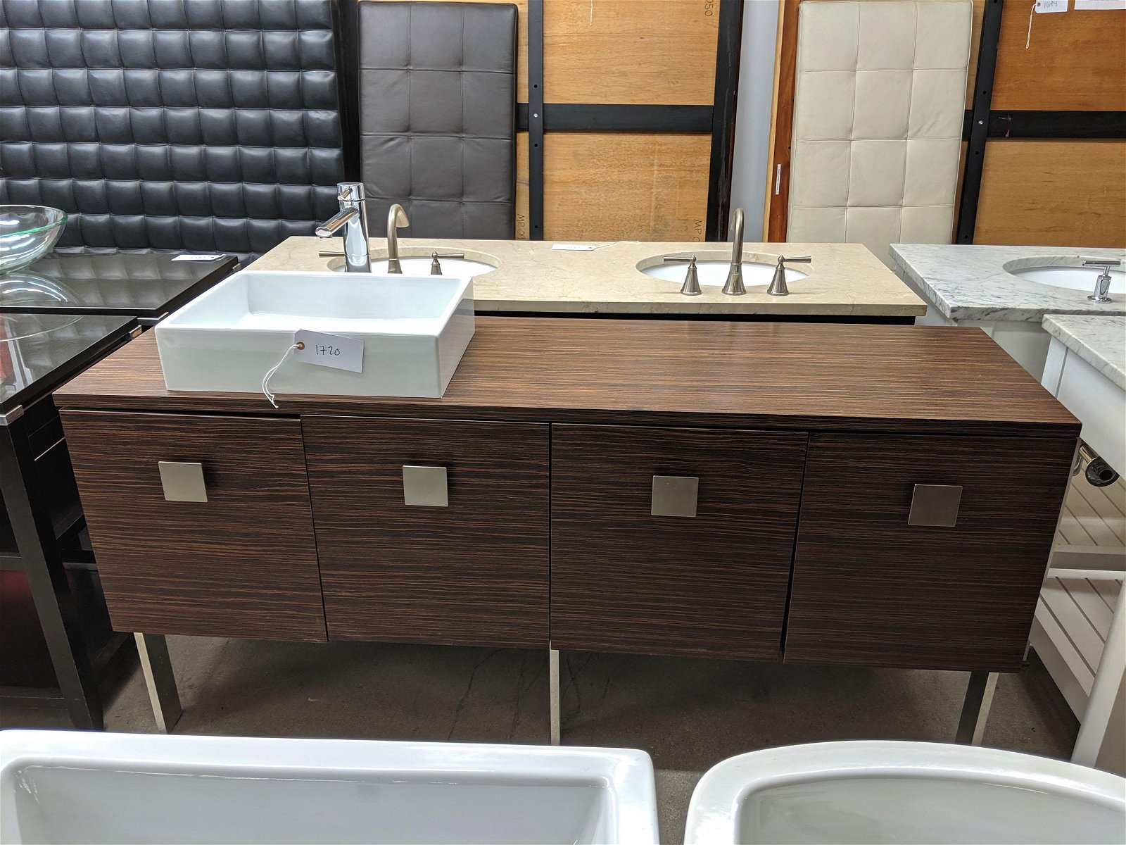 Contemporary Sink and Cabinet