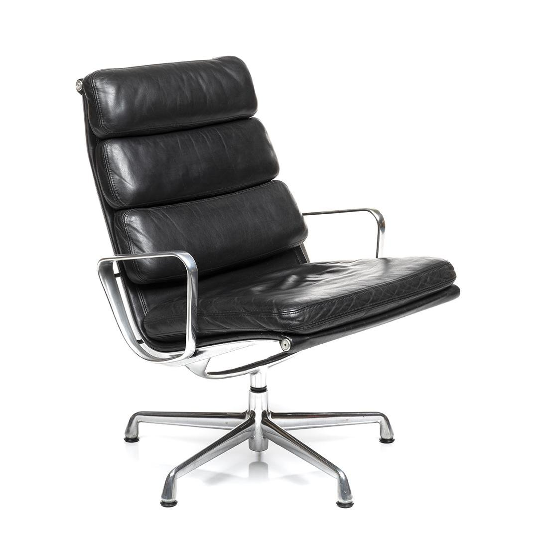Charles and Ray Eames Soft Pad Lounge Chair