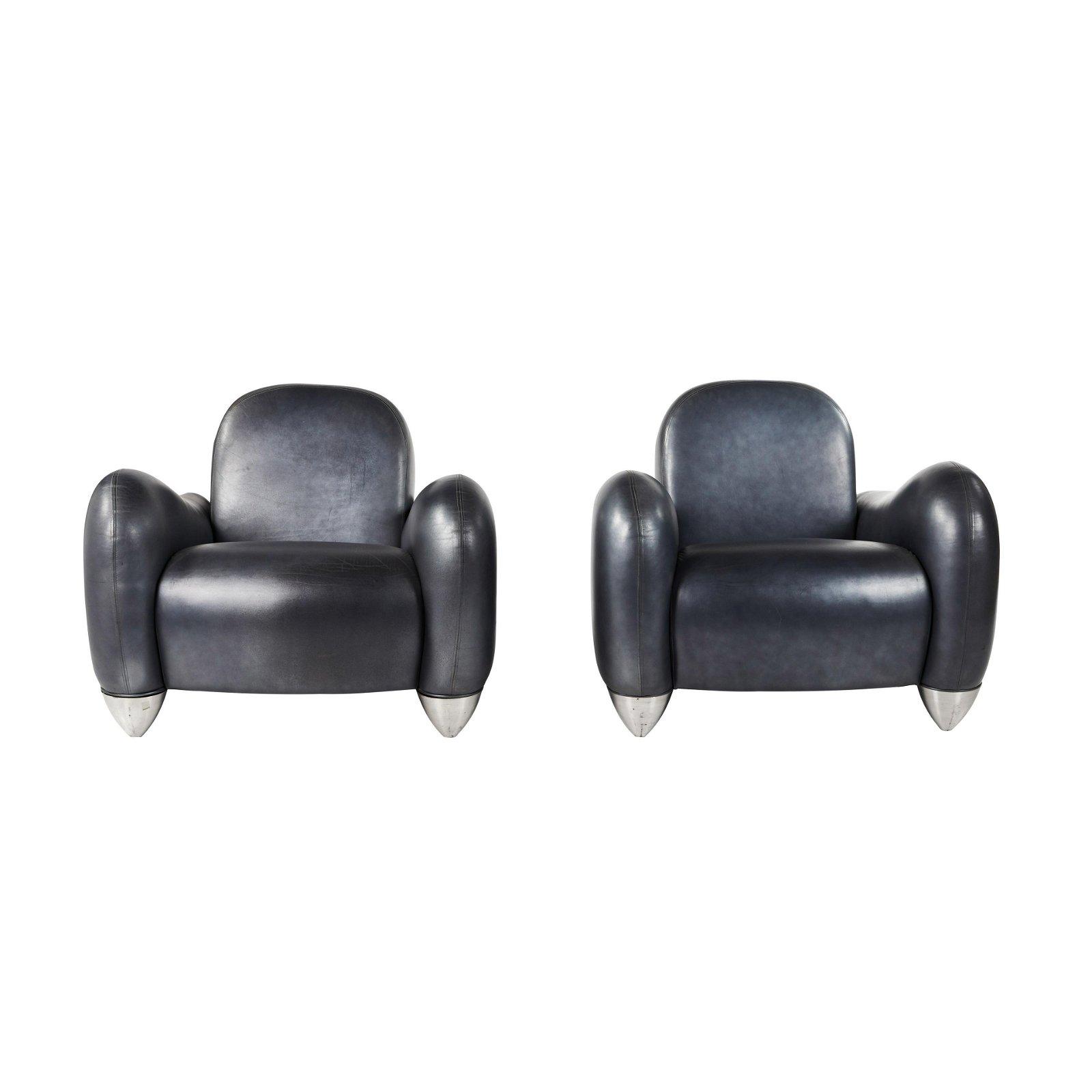 Design America Lounge Chairs (2)