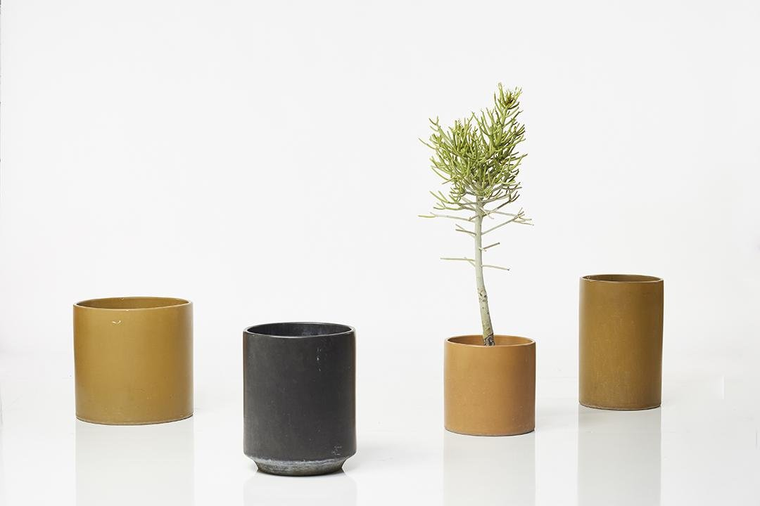 Architectural Pottery Planters (4)