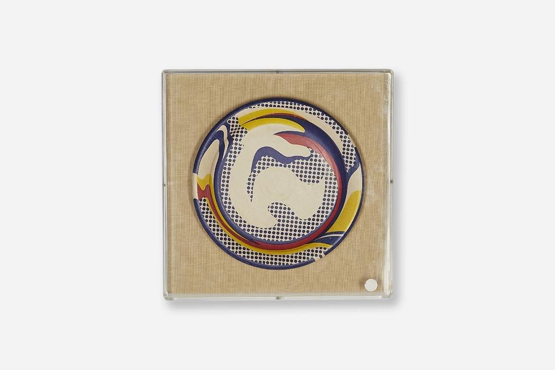 Roy Lichtenstein Paper Plate
