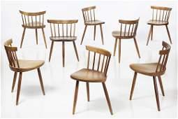 George Nakashima Mira Chairs (8)