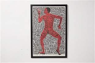 Keith Haring, 'Keith Haring: Into '84' Exhibition