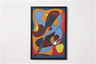 Modern, Abstract Oil Painting