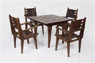 Angel Pazmino, Dining Set (5)
