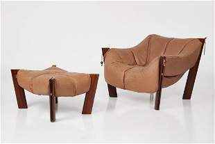 Percival Lafer, Lounge Chair and Ottoman (2)