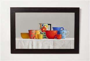 Janet Rickus, Still Life Oil Painting