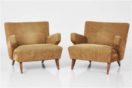 Jens Risom, Lounge Chairs (2)