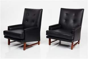 Edward Wormley, Lounge Chairs (2)