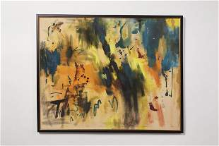 Modern, Large Abstract Painting