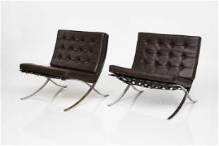 Ludwig Mies van der Rohe, 'Barcelona' Chairs (2)