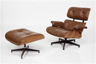 Charles & Ray Eames, Lounge Chair and Ottoman, Model