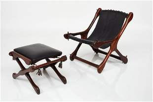 Don Shoemaker, Lounge Chair and Ottoman (2)