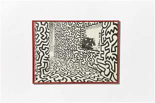 Keith Haring, Signed Poster