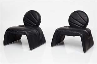 Vittorio Introini, Lounge Chairs (2)