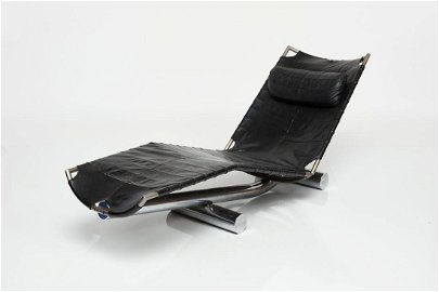 Paul Tuttle, 'Chariot' Chaise Lounge