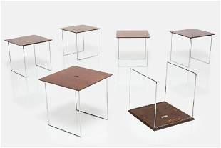 Poul Norreklit, 'Magic Cube' Nesting Tables
