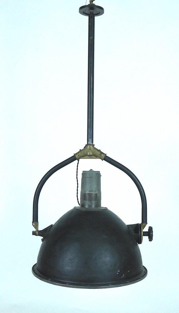 Industrial flood light chandelier