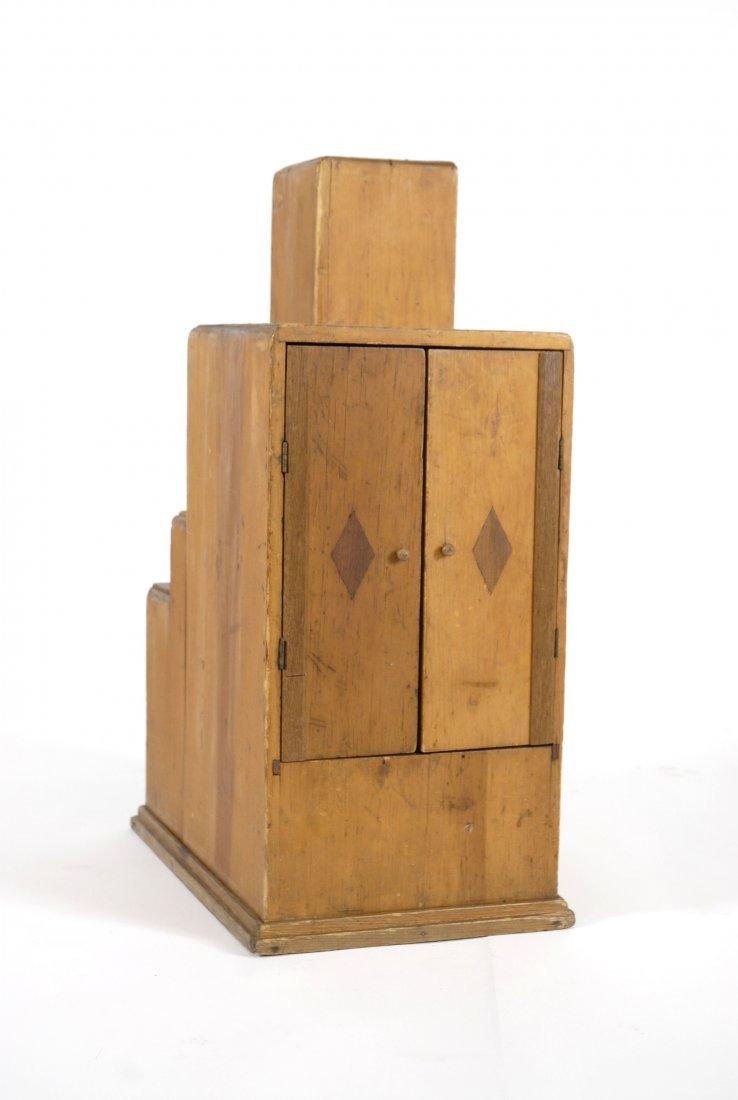 """Art Deco """"skyscraper"""" cabinet"""