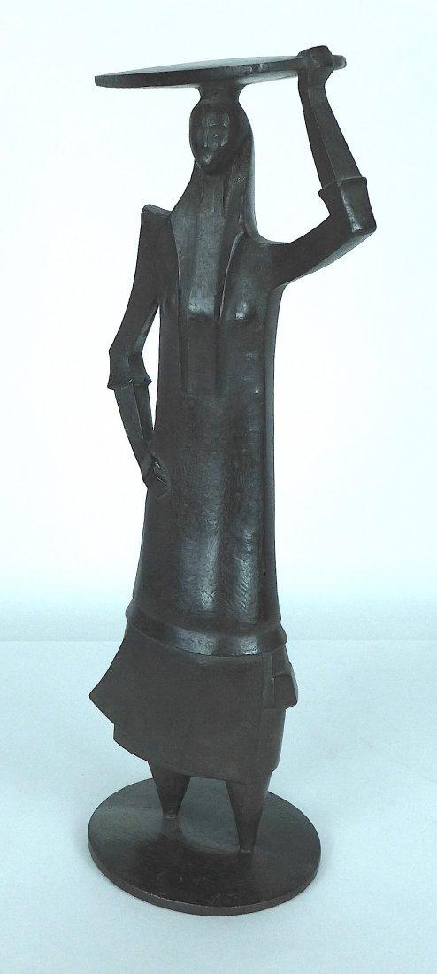 Quintino Sebastiao bronze figure