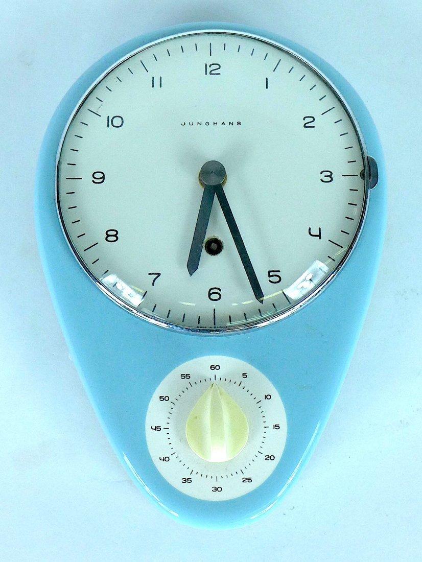 Max Bill kitchen timer clock